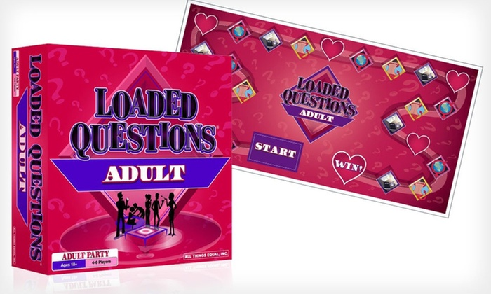 Loaded Questions Adult Board Game: $19.99 for the Loaded Questions Adult Board Game ($29.99 List Price). Free Shipping.