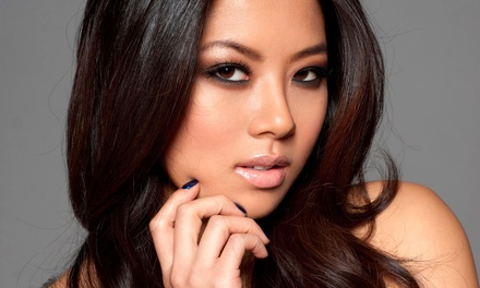 Blowouts and Makeup Applications at Fétiche Beauty Lounge (Up to 53% Off). Five Options Available.