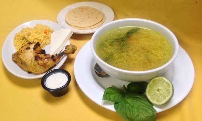 Caliente Grill - Annapolis: $7 for $13 Worth of Salvadorian Food — Caliente Grill