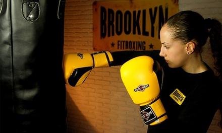 10 o 20 clases de fitboxing en 13 centros Brooklyn de Madrid, Segovia, Alicante, Galicia y Santander