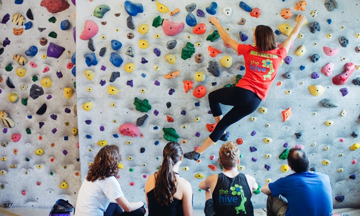 The Hive - Strathcona: Intro to Bouldering Course and Two Weeks of Full Gym Access for One or Two at The Hive (Up to 61% Off)