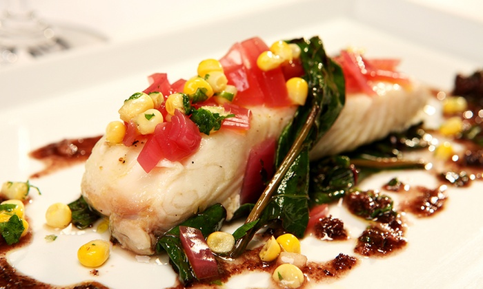 Oceanique - Evanston: Chef's Five-Course French Seafood Tasting Dinner for Two or Four at Oceanique (Up to 53% Off)