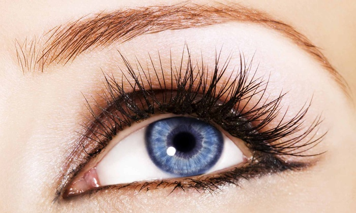 840b1b6840f Full Set of Eyelash Extensions - Pink Lash | Groupon