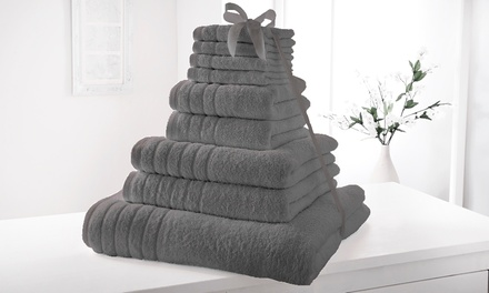9Piece or 18Piece Elizabeth Jayne 500gsm Egyptian Cotton Towel Bale