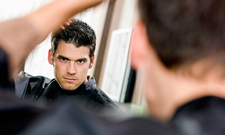 One or Two Men's Executive Haircuts with Optional Add-On Services at 18|8 Fine Men's Salons (Up to 69% Off)