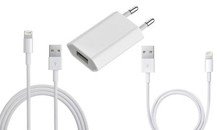 Apple kabel van 1 of 2 meter of Apple adapter van 5 W