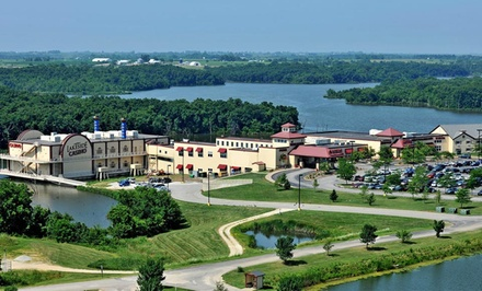 1-Night Stay with Dining and Casino Credits at Lakeside Hotel Casino in Osceola, IA