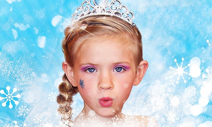Sweet & Sassy - Towns of Chapel Hill: $18 for a Ice-Princess Package with Braids, Makeup, and Princess Jewelry at Sweet & Sassy ($35 Value)