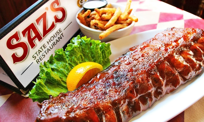 Saz's State House - Wick Field: $30 for $50 Worth of Barbecue and Pub Food at Saz's State House