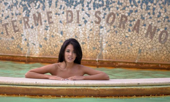 Ingresso alle piscine termali, percorso benessere, massaggio, light lunch o cena da Terme di Sorano (sconto fino a 63%)