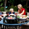 Afire tableQ Tabletop Barbecue Sets