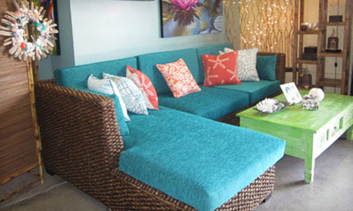 Bali Designs - Kalihi - Palama: Indonesian Furniture and Decor at Bali Designs (Half Off). Two Options Available.