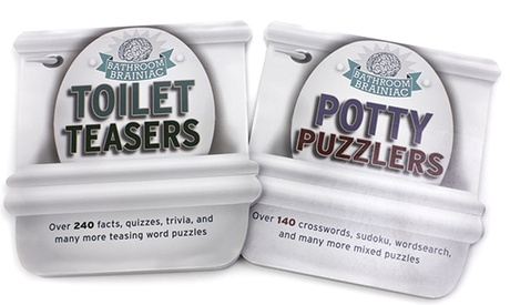 Potty Puzzlers and Toilet Teasers (2-Book Set) f454a01a-e7f9-11e6-aa25-00259069d7cc