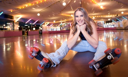 Unlimited Roller Skating, Laser Tag, and Playground Time for Two or Four at FunQuest (Up to 52% Off)