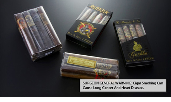 Gurkha Cigar Samplers: Ghurka Cigar Samplers (Up to 71% Off). Four Options Available. Free Shipping.