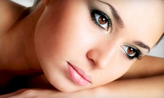 I Bar - Multiple Locations: Permanent Makeup On Upper or Lower Eyelids, Both, or Eyebrows at I Bar (Up to 56% Off)