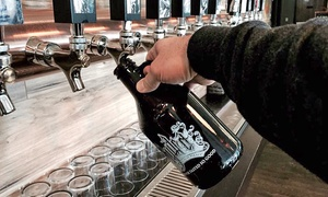 Beer Flight for Two or Four with Empty Souvenir Growler at Hydra Beer Company (Up to 59% Off)