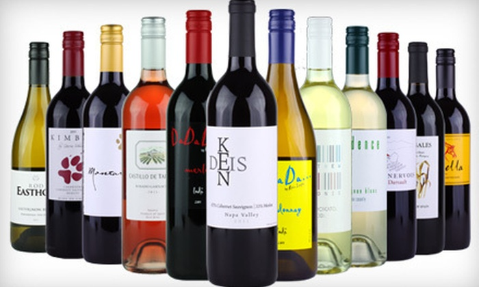 Wine - Sacramento: $59 for a 12-Bottle Case of Wine ($160 Value)