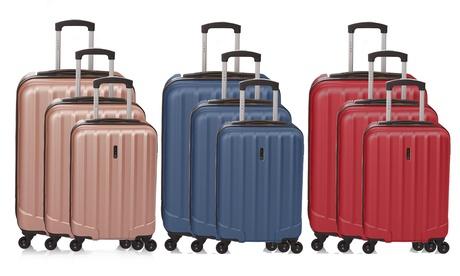 Juego de 3 maletas de viaje Bastille
