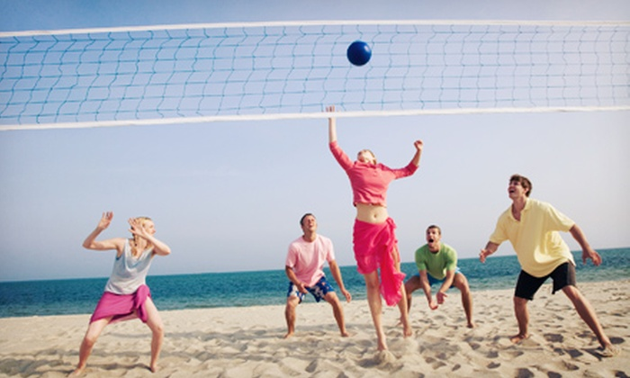 Cities and Sports - Multiple Locations: Individual or Team Beach-Volleyball, Softball, or Kickball League Registration from Cities and Sports (Up to 53% Off)