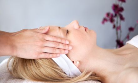 60-Minute Reiki Session with Aromatherapy from Ohm My Goodness (52% Off)