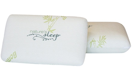 One, Two, or Three Memory-Foam Pillows from Nature's Sleep (Up to 74% Off)
