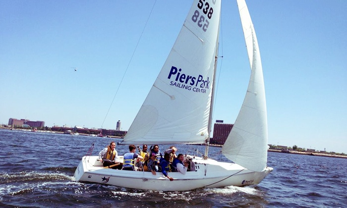 Piers Park Sailing Center - Piers Park: Two-Hour Sailing Lesson or Harbor Cruise from Piers Park Sailing Center (Up to 60% Off)