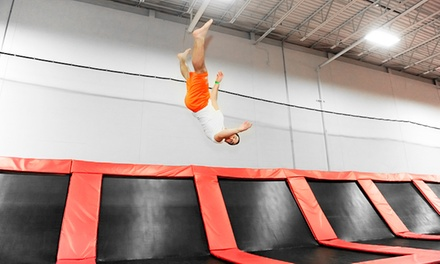 One-Hour Jump Passes for Two, Four, or Six at Rockin' Jump (Up to 50% Off)