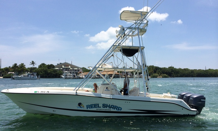 Reel Sharp Sport Fishing - Islamorada - Florida Keys: Three-Hour Shark-Fishing Charter Trip for Up to Four People from Reel Sharp Sport Fishing (Up to 43% Off)