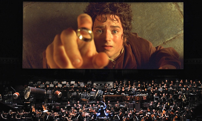 """The Lord of the Rings: Fellowship of the Ring"" In Concert - Duke Enrgy Center: ""Lord of the Rings: The Fellowship of the Ring"" Concert at Red Hat Amphitheater, September 18–19 (Up to 50% Off)"