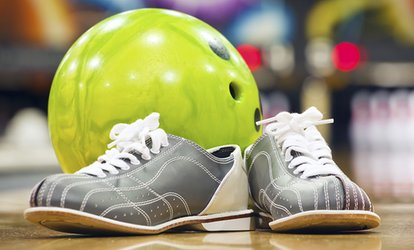 image for Two-Hours of Bowling with Shoe Rental for Two, Four, or Six at Stars Recreation Center (56% Off)