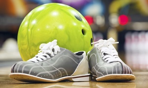 Stars Recreation Center: Two-Hours of Bowling with Shoe Rental for Two, Four, or Six at Stars Recreation Center (52% Off)