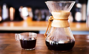 The Blind Tiger Cafe: Coffee Brewing and Tasting Course for One or Two at The Blind Tiger Cafe (50% Off)
