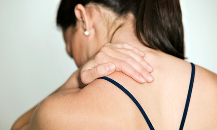 $49 for a Chiropractic Package with Massage, Exam, Therapeutic Exercises, and Health Report (Up to $350 Value)