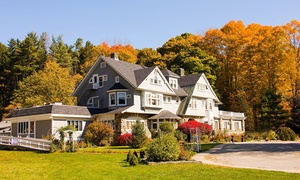 Hartness House: Stay with Dining Credit at Hartness House in Springfield, VT. Dates into October.