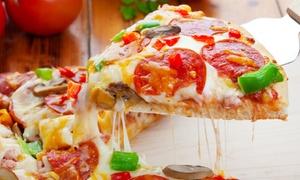 pizza town: Menu italien 3 plats pour 2 personnes au Pizza Town