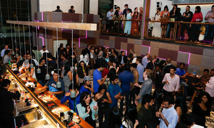 Loft 38 indiranagar anoche the last night party for new year with