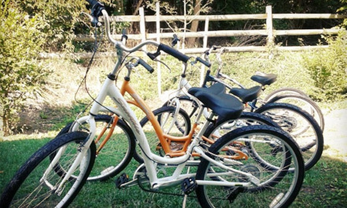 The Tandem Connection - Hendersonville: Two-Hour Bicycle Rental for One, Two, or Four from The Tandem Connection (Up to 53% Off)