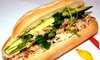 Mo's Aroma Coffee & Snacks - Alum Rock: $16 for a Sandwich and Smoothie Meal for Two at Mo's Aroma Coffee & Snacks ($24.74 Value)