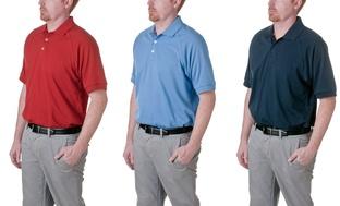 Adidas Mens Pique Golf Polo