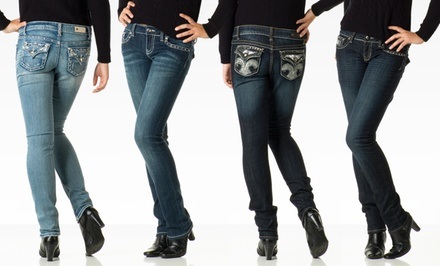 Antique Rivet Women's Stretch Jeans. Multiple Styles Available.