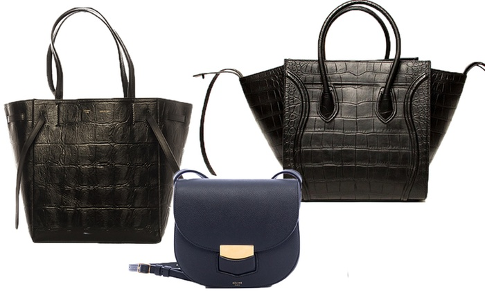 C¨¦line Genuine Leather Handbags | Groupon
