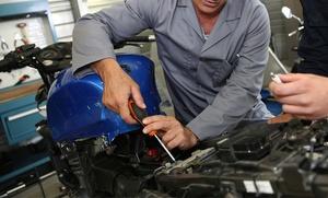 Cambio de aceite y revisión para motos desde 19,95 € en Les Corts