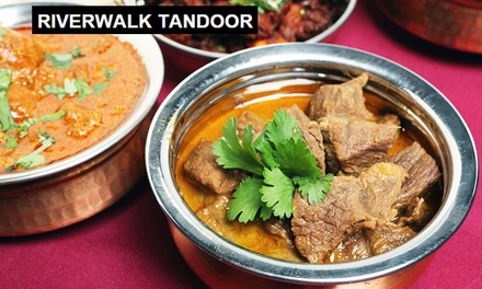 Riverwalk Tandoor Restaurant: $14.70 for a Buffet with Masala Tea (wor...
