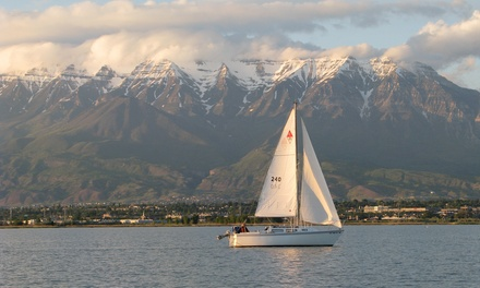 Two-Hour Discover Sailing Experience for Two or Four from Bonneville School of Sailing in Provo (50% Off)