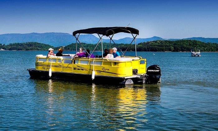 Douglas Lake Marina - 2: Four- or Eight-Hour Pontoon Boat Rental at Douglas Lake Marina (Up to 43% Off)