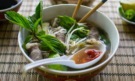 Vietnamese Food and Drinks at Pholicious (40% Off). Two Options Available.