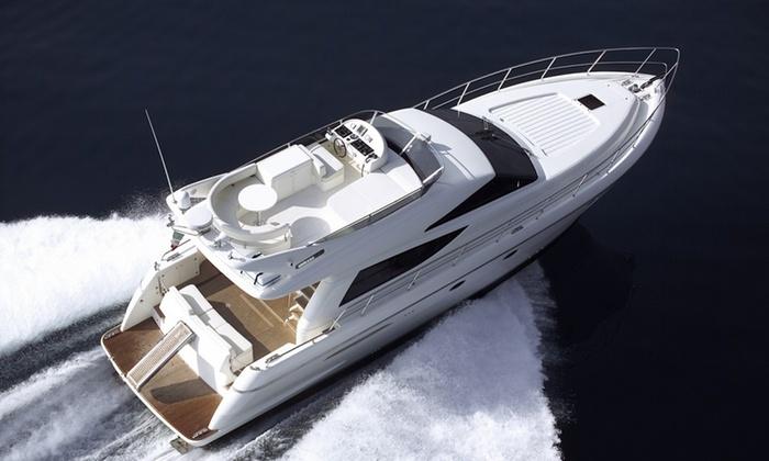 Miami Luxury Car Rental - Bayshore: $460 for $999 Worth of Yacht Rental — Miami Luxury Car Rental