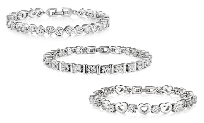 Bracelet Made With SWAROVSKI ELEMENTS for AED 69 (77% Off)