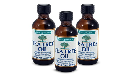 3-Pack of 2 Fl. Oz. Good 'N Natural Tea Tree Oil